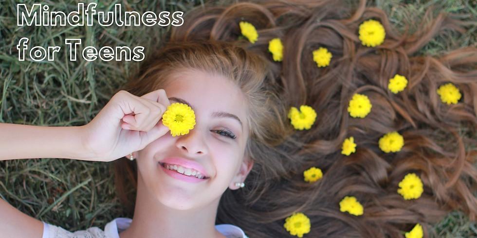 6-week Mindfulness for Teens Class