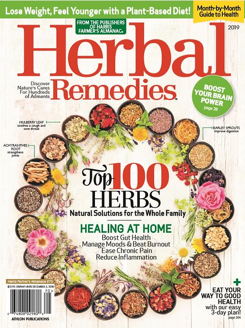 Herbal Remedies Magazine 2019