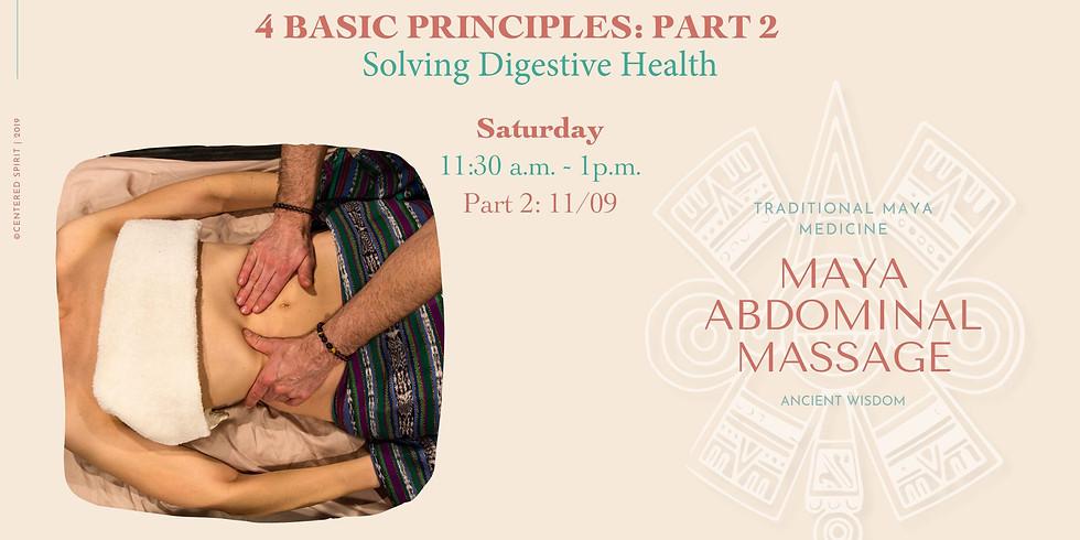 4 Basic Principles: Maya Abdominal Massage - Part 2