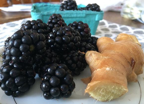 Blackberry Ginger Jam