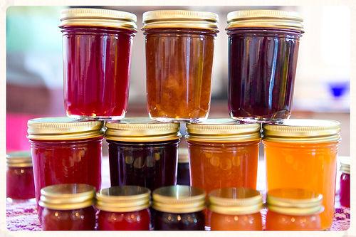 Jam Sessions Arlington MA Massachusetts jam jelly jars