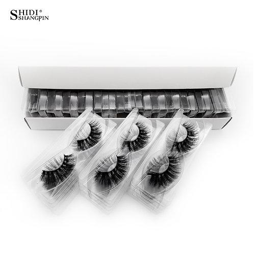 30 Pairs Eyelashes Natural Long 3d Mink  Extensions