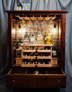 Wine and Spirits Cabinet