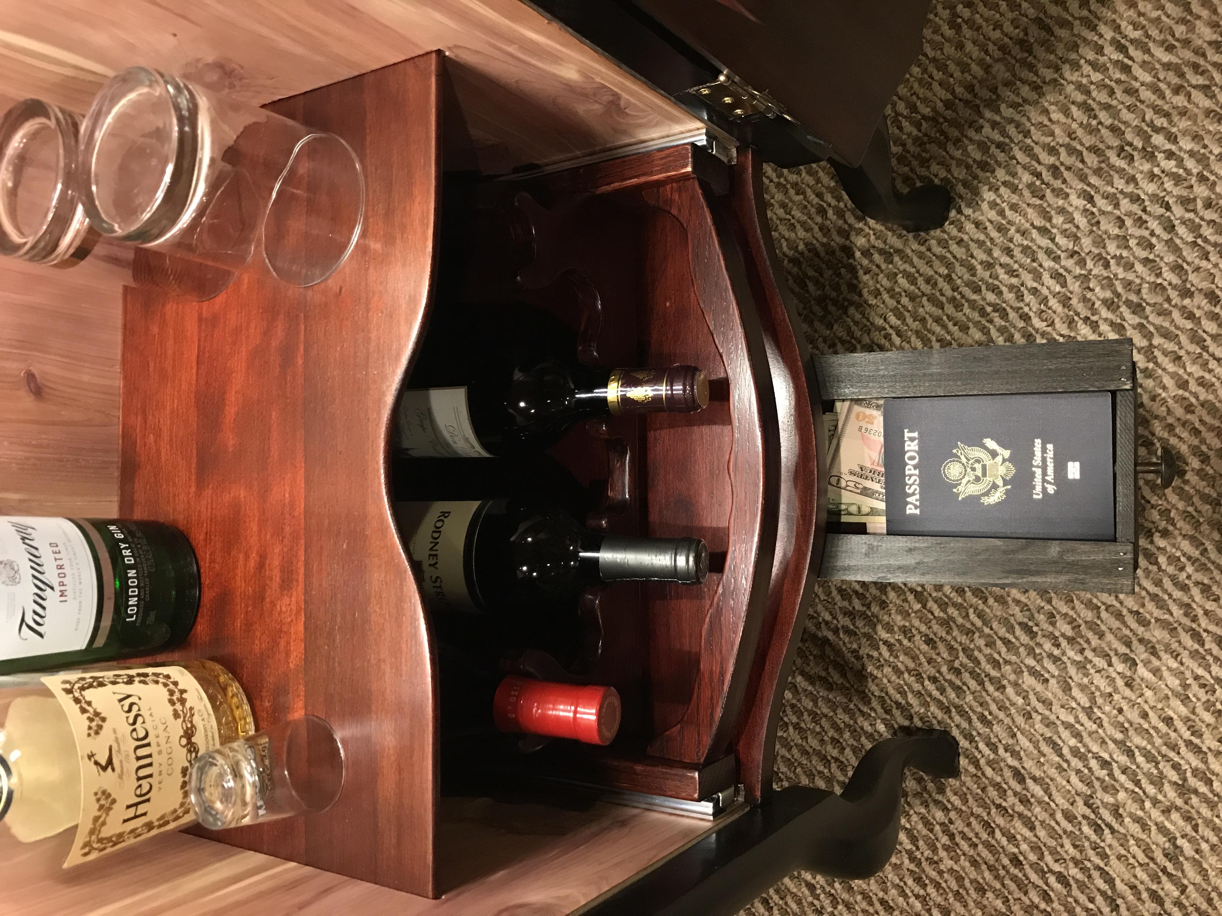 Wine & Spirits Cabinet