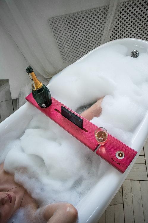Подставка для ванны (розовая)