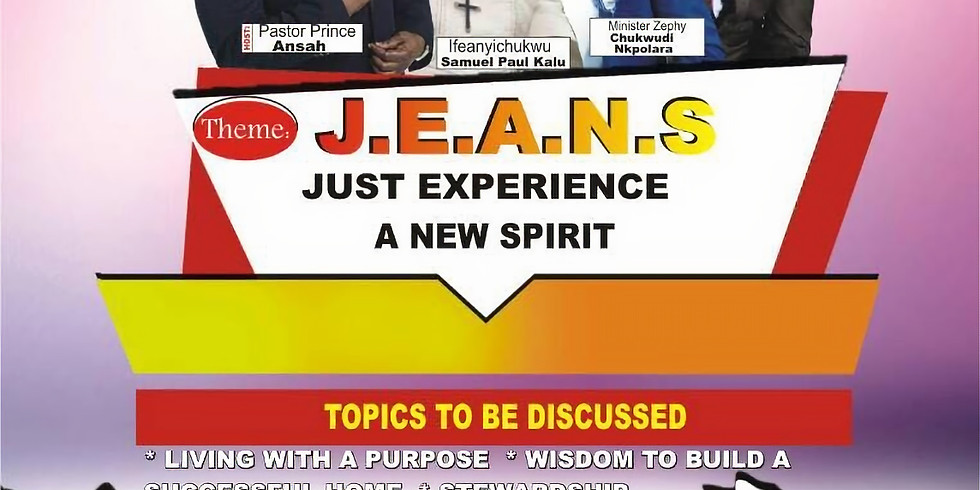 J.E.A.N.S (Mens Conference 2018)