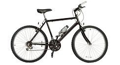 黒のバイク