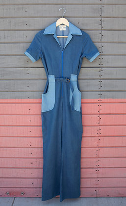 Miracle Eye Denim Jumpsuit