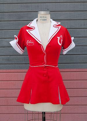 1940's Cheerleader Uniform XS