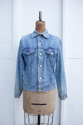 1970's Maverics Light Wash Jean Jacket