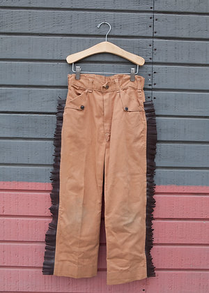 1950's Davy Crockett Trousers Sz 10