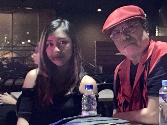 With Freddie Aguilar