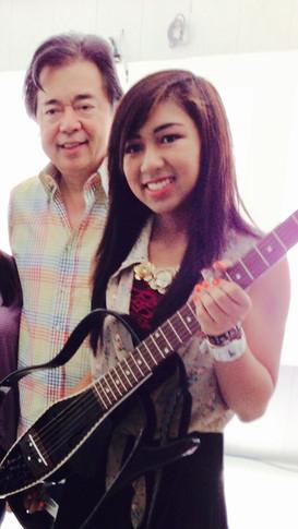 With RJ Jacinto