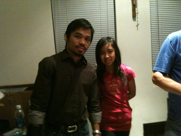 With Manny Pacquiao