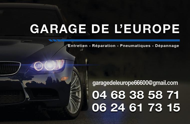 Garage de l'europe