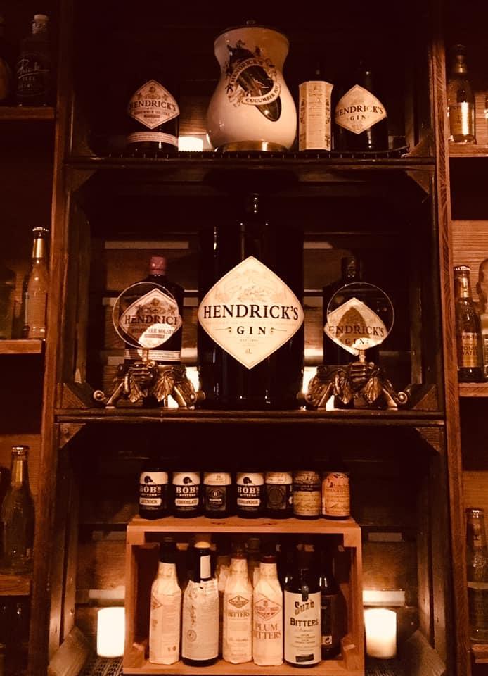 hendrick's Gin atelier cocktail