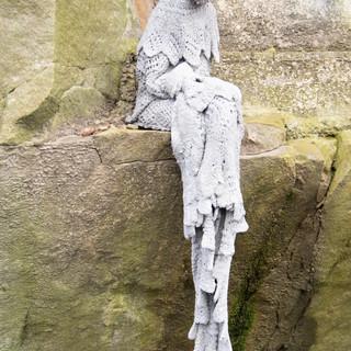 Sitting in rock
