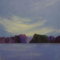 Purple Cliffs