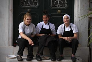 Konstantina, Vicky & Zeta, Funky Gourmet // Keramikos