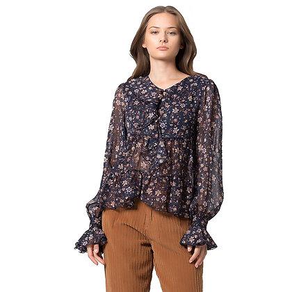 Kocca blusa floreale BISCAY