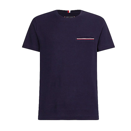 Tommy t-shirt piq pocket 16600