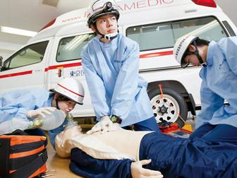 救命救急士の仕事内容、目指せる大学一覧