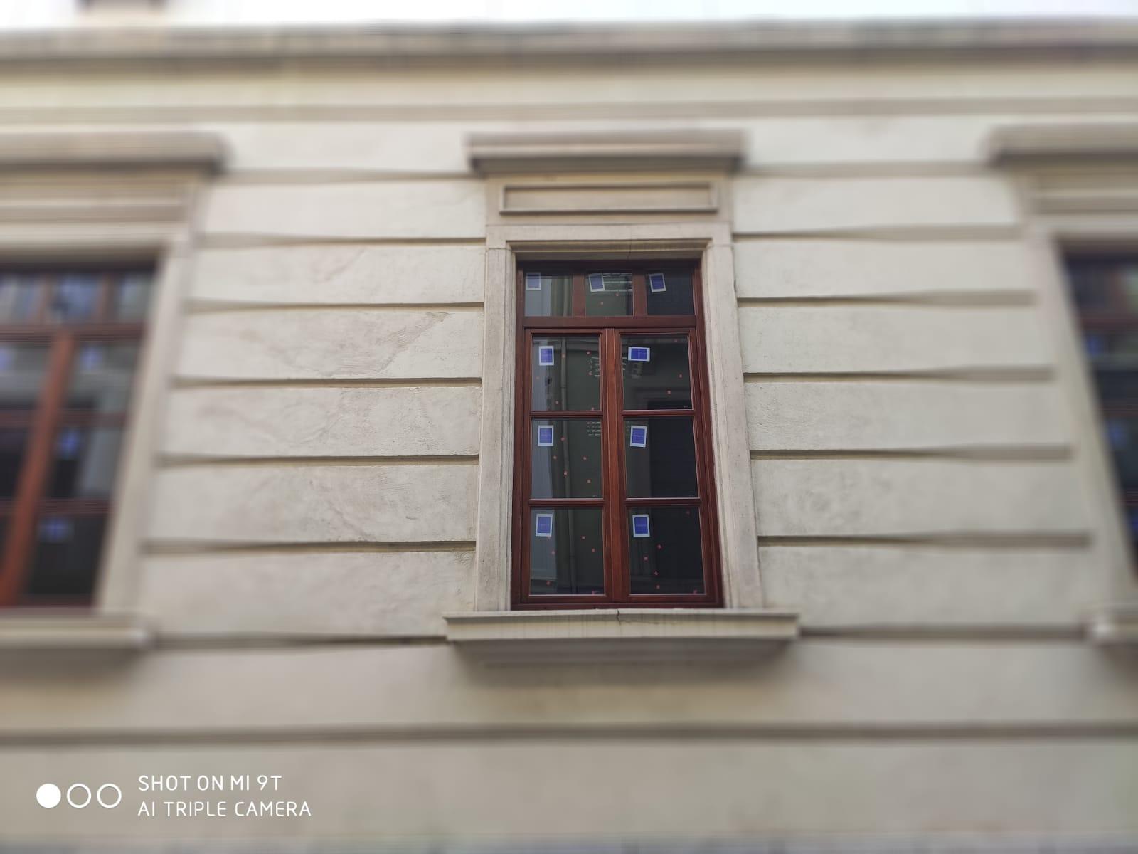 exterior ventana de madera reforma madri
