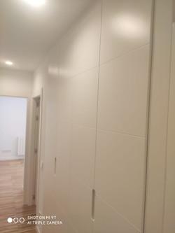 puerta corredera blanca madera - puertas