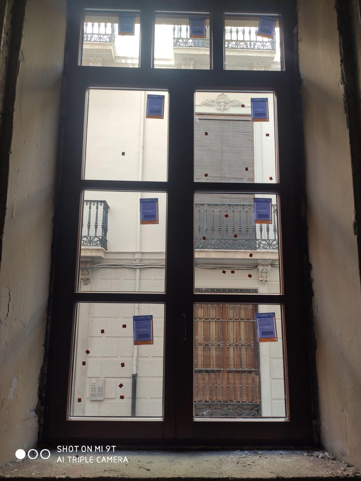 ventanas de madera reforma casa -puertas