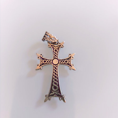 Handmade Cross Pendant
