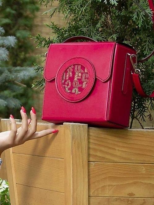 Handmade bag with Armenian letters