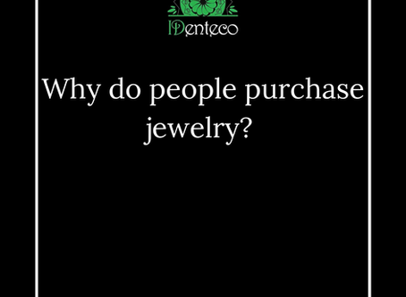 Why do people purchase jewelry?