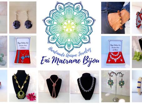 Handmade creations in Cyprus: Eni Macrame Bijou