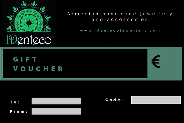 Gift voucher from IDenteco jewellery store