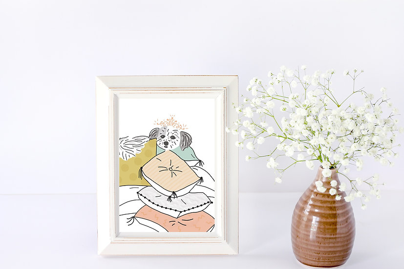 Personalized Portrait Framed