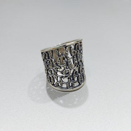 """Aybuben"" Handmade Silver Ring"