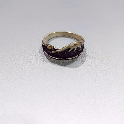"Handmade silver ring ""Masis"""