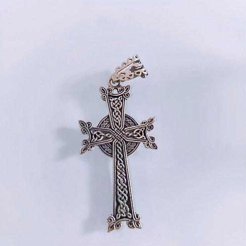 Medieval Handmade Cross Pendant