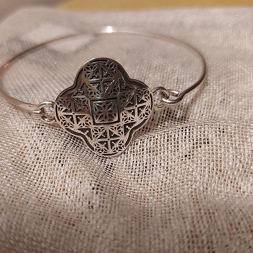 "Handmade Silver Bracelet ""AYNTAB"""