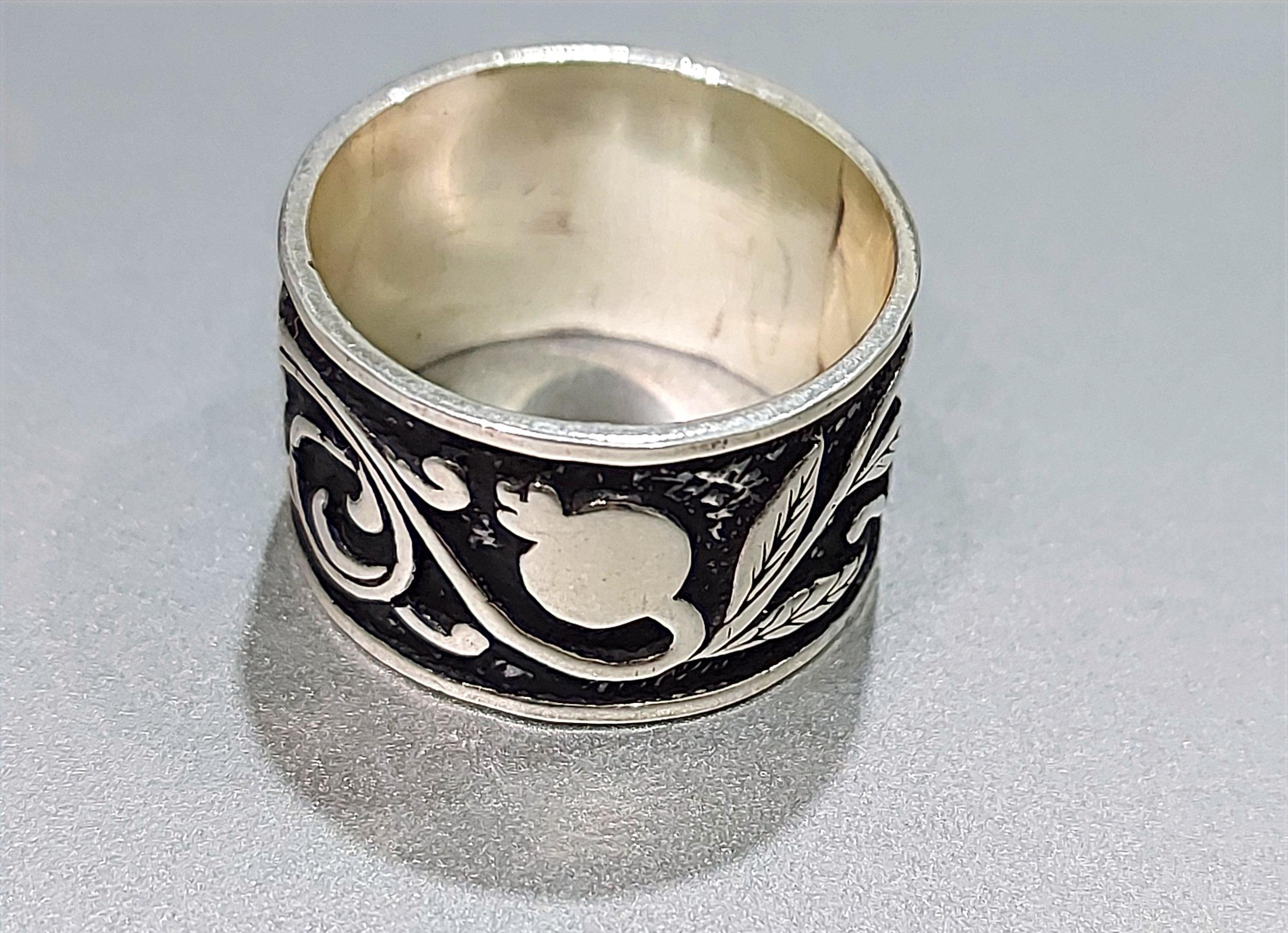 """Handmade silver ring """"Armenian Harvest"""""""