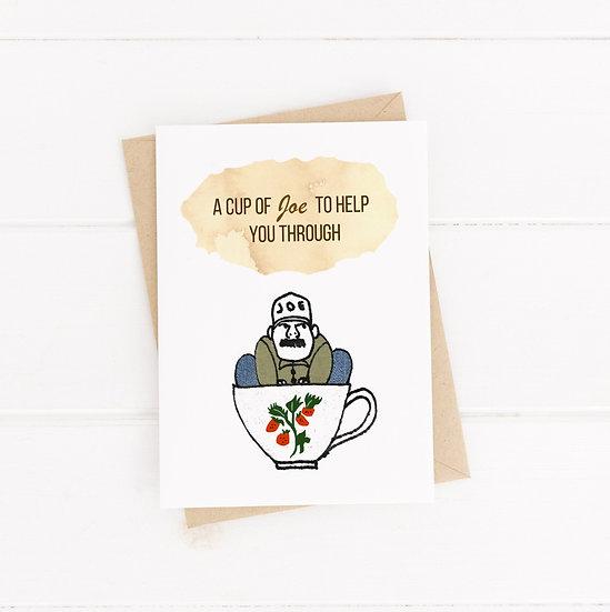 A Cup of Joe Card