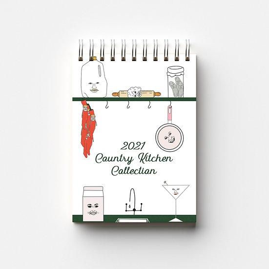 Country Kitchen Calendar