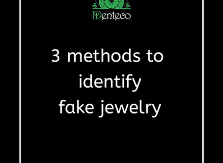 3 methods to identify fake jewelry