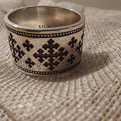 "Handmade Silver Ring ""Marash"""