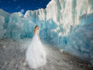 Ice Castle stylized wedding