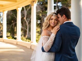 Balboa park prewedding photo with Anna&Andre