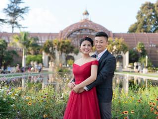 Wedding at Balboa park