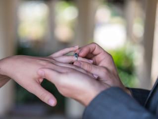 Engagement photo shooting at Balboa park, San Diego