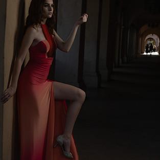 Juliet gown with Zoe Luzz