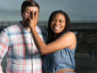 Engagement photo shooting with Dionne and Elton